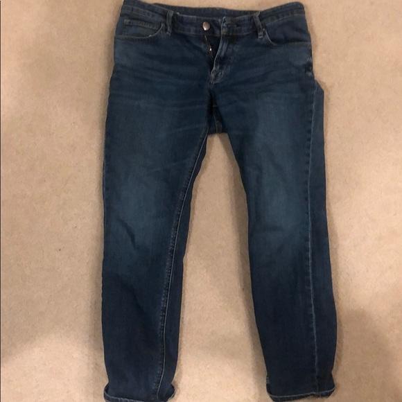 women differently buy sale Muji Japanese jeans, boyfriend cut.